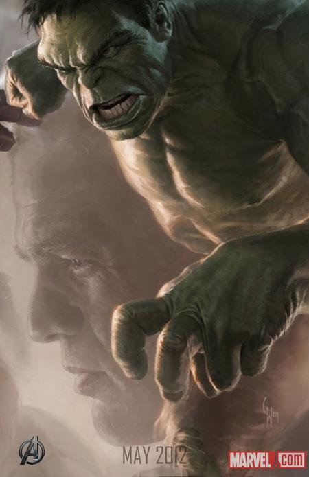Nuevo cartel de The Avengers: Hulk
