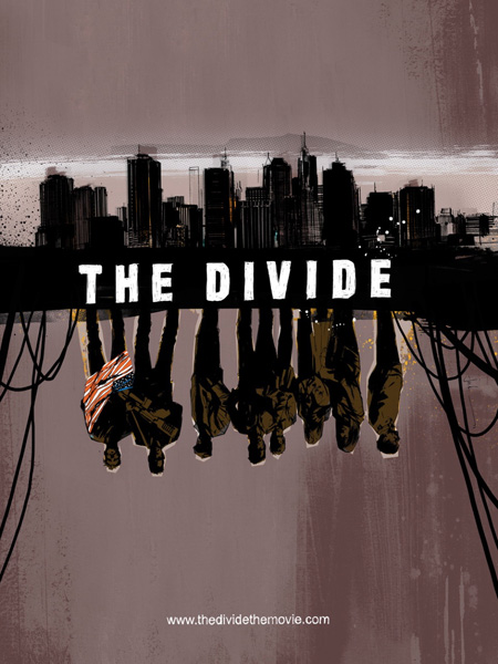 Cartel de The Divide para la Comic-Con de San Diego 2011