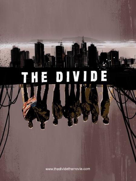 Cartel de The Divide para la Comic-Con de San Diego 2011