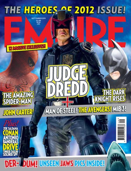 Portada del número de septiembre de la revista Empire