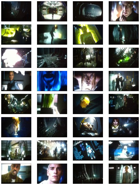 Todas las capturillas del metraje de Prometheus