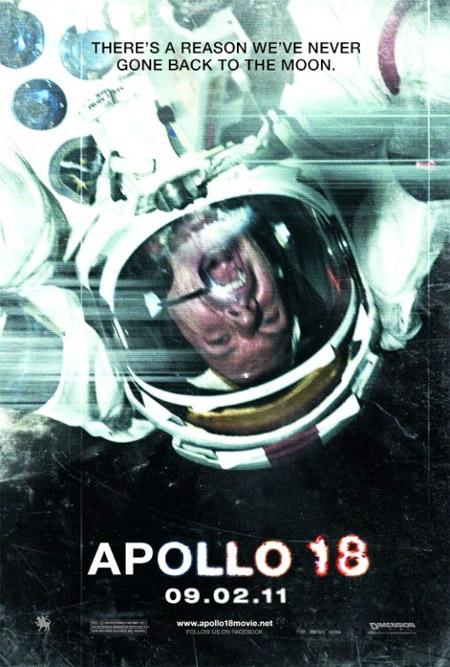 Nuevo cartel de Apollo 18 de Gonzalo López-Gallego