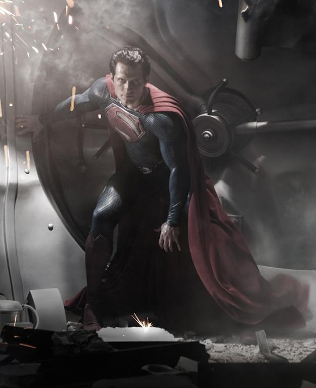 Así se ve mejor al nuevo Superman en Man of Steel