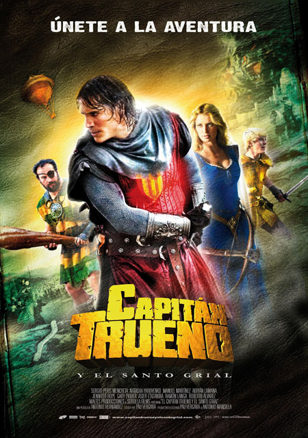 Póster final de Capitán Trueno y el Santo Grial
