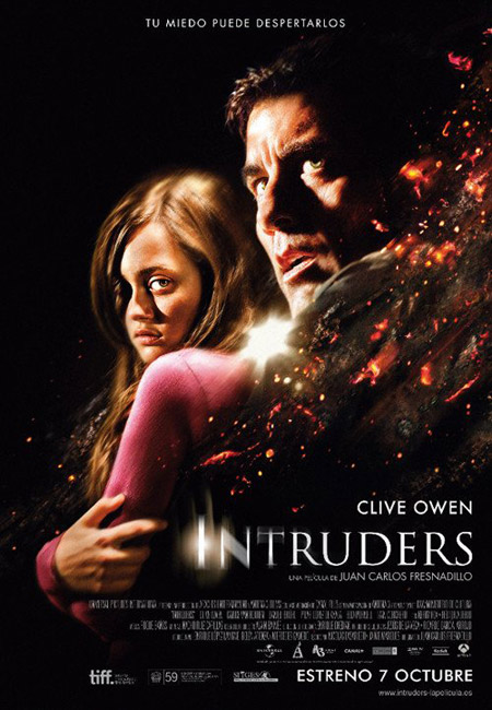 Cartel español de Intruders