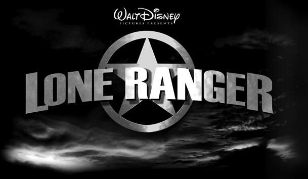 El logo oficial de The Lone Ranger para Disney Pictures