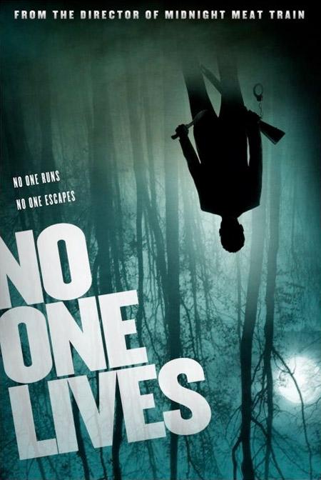 Primer cartel de No One Lives de Ryuhei Kitamura