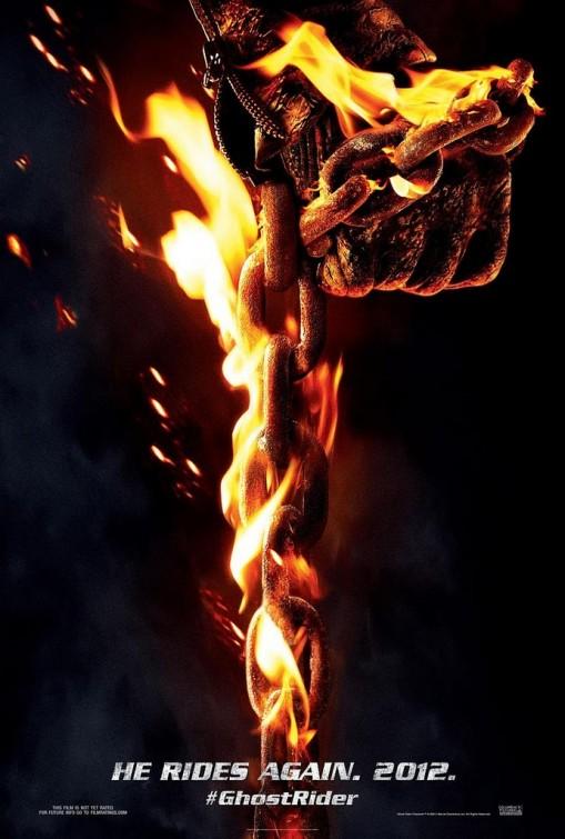 Primer cartel de Ghost Rider: Spirit of Vengeance