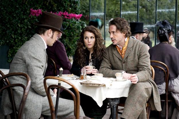 Nueva imagen de Sherlock Holmes: juego de sombras