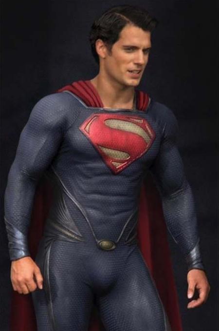 Henry Cavill como el nuevo Superman