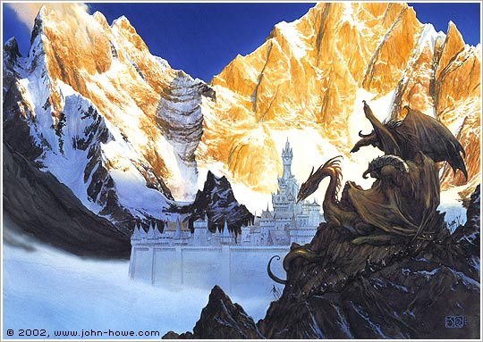 Morgoth's Forces before Gondolin (46.0 x 64.3 cm), 1990