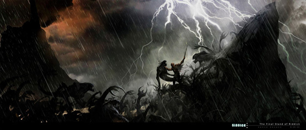 Nuevo concept art de Riddick... The Final Stand of Riddick