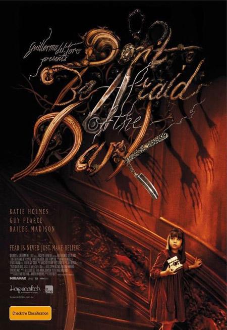 Fabuloso y original nuevo cartel de No tengas miedo a la oscuridad
