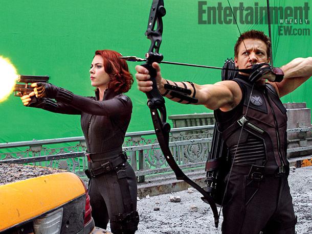 Nueva imagen del rodaje de Los Vengadores