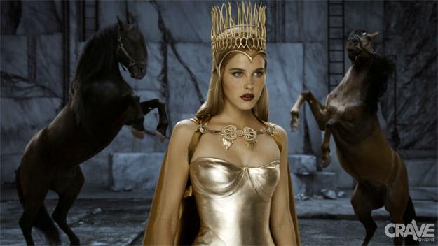 Un vistazo a la dorada Atenea de Immortals