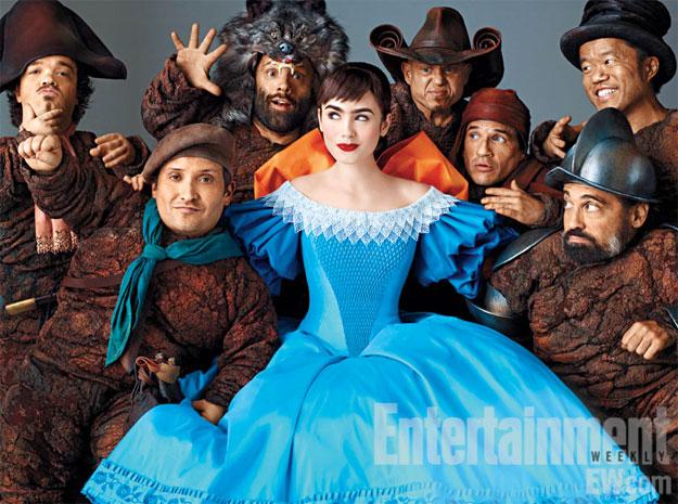Primera imagen de Blancanieves y los siete enanitos