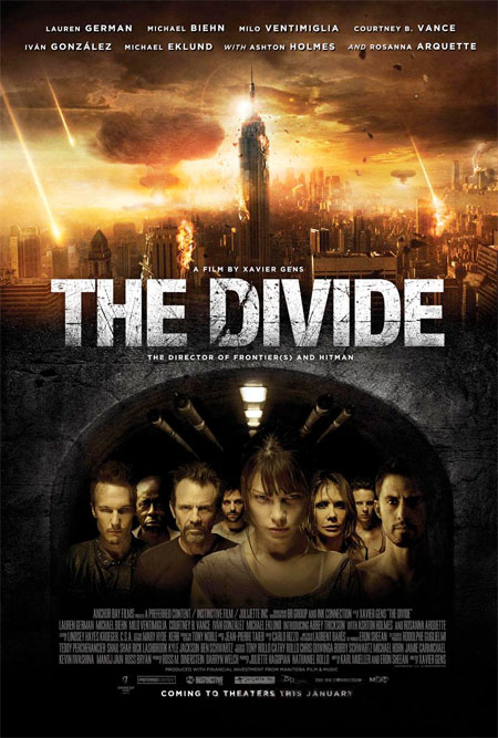 Cartel de The Divide