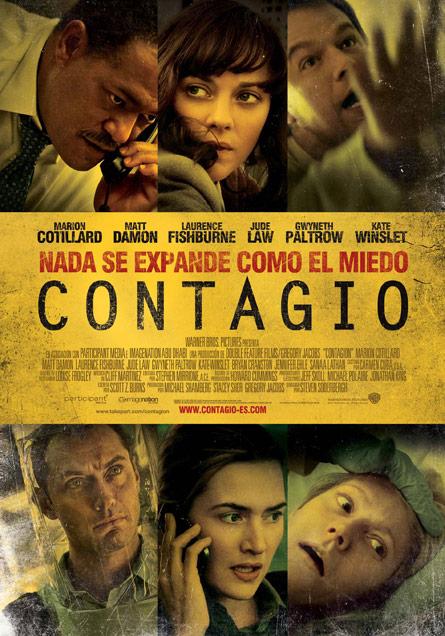 Cartel español de Contagio