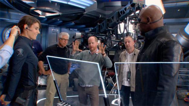 Nueva imagen de Los Vengadores: rodaje y primer vistazo a Maria Hill