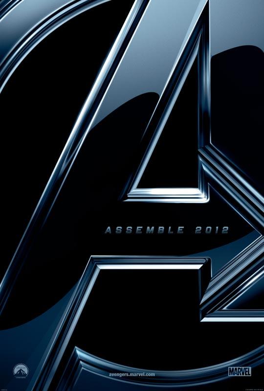 El único póster oficial de Los Vengadores