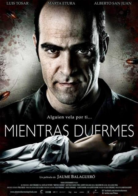 Un cartel de Mientras duermes de Jaume Balagueró