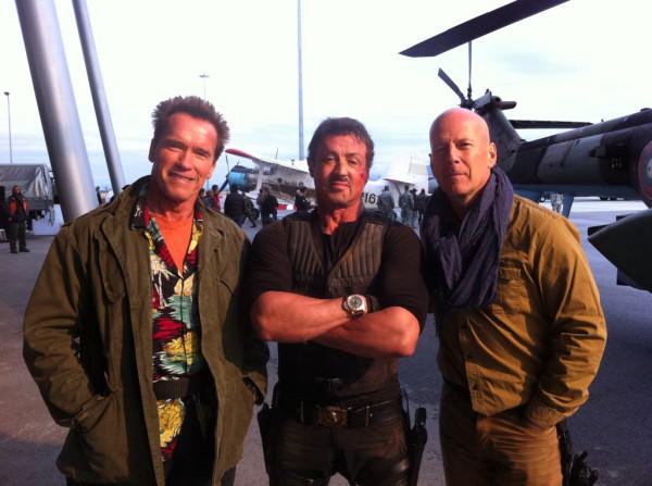 Tres mitos vivientes vía @Schwarzenegger