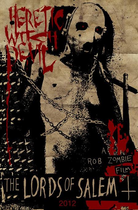 Nuevo grotesco teaser poster de The Lords of Salem de Rob Zombie