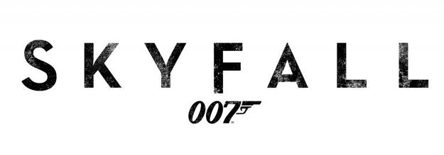 Logo oficial de Skyfall de Sam Mendes