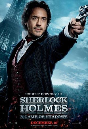 Nuevos carteles de Sherlock Holmes: juego de sombras