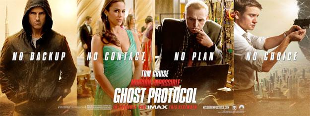 Cartel banner de Misión imposible: protocolo fantasma