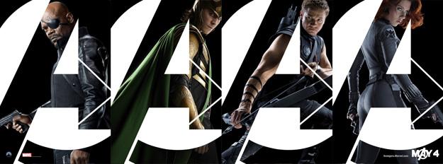 Banner composición 2 de Los Vengadores
