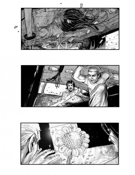 Storyboard de Neuromancer (1º)