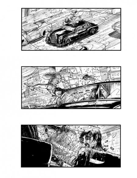 Storyboard de Neuromancer (3º)