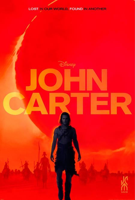 Nuevo cartel de John Carter