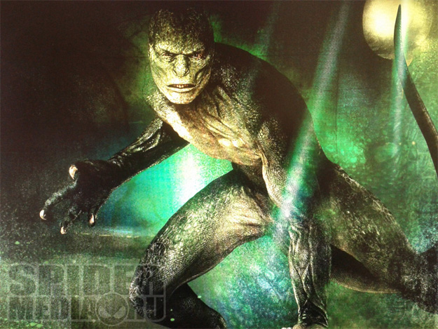 ¿Es este El Largarto que veremos en The Amazing Spider-Man?