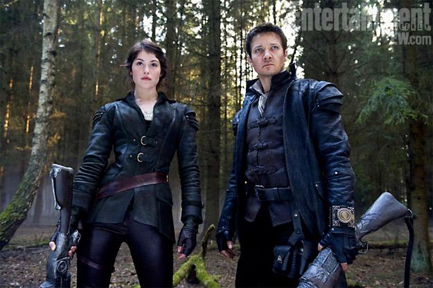 Primer vistazo a Gemma Arterton y Jeremy Renner en Hansel & Gretel: Witch Hunters