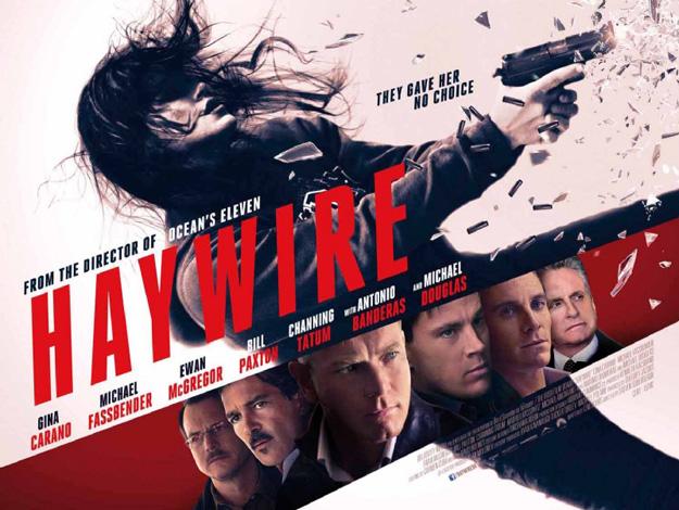 Nuevo cartel de Haywire