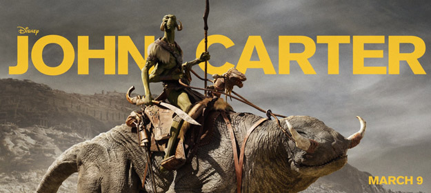 Nuevo banner cartel de John Carter