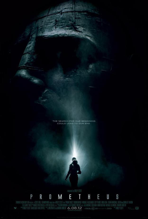 El primer cartel de Prometheus