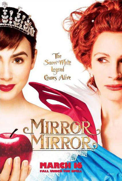 Nuevo cartel de Mirror Mirror