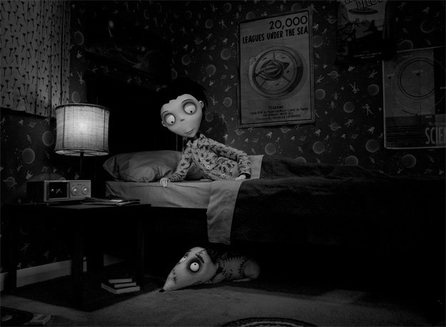 Nueva imagen de la versión stop motion de Frankenweenie de Tim Burton