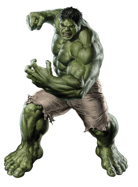 Impresionante concept art del Hulk a cuerpo completo que veremos en Los Vengadores