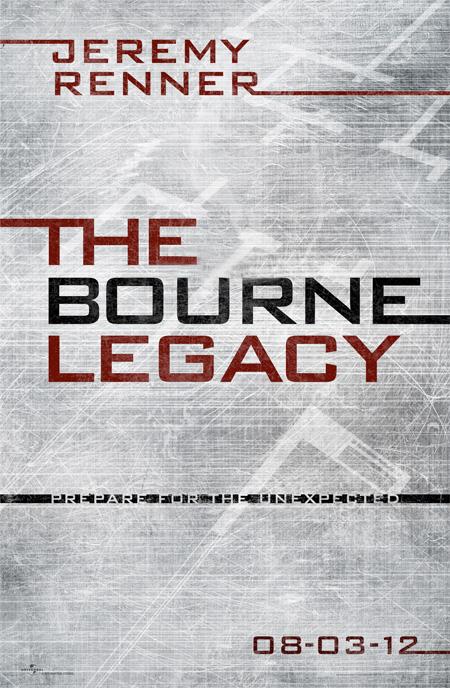 Primer cartel de El legado de Bourne