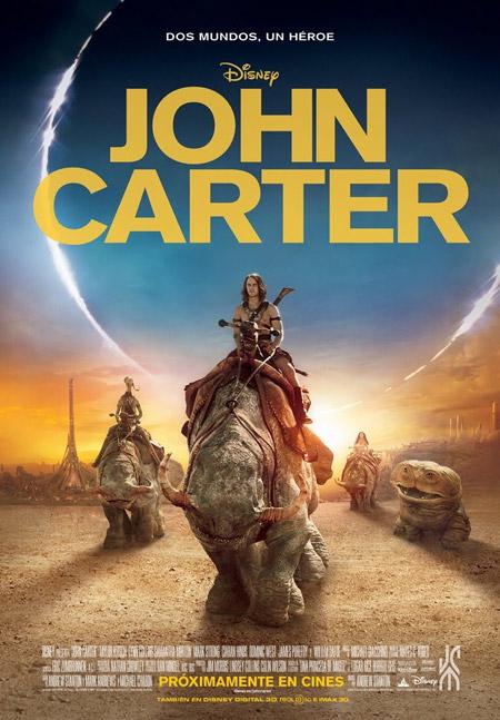 Nuevo cartel español de John Carter
