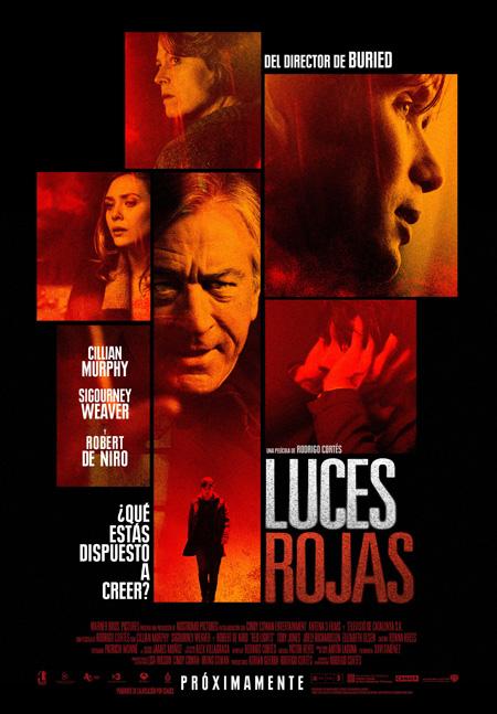 Cartel final de Luces rojas de Rodrigo Cortés