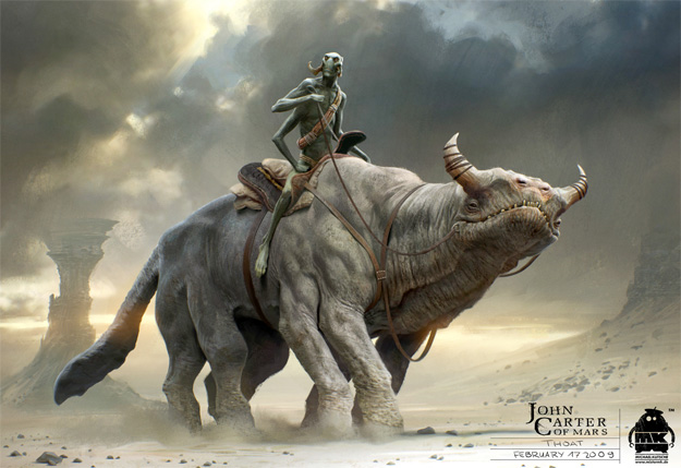 Espectacular concept art de John Carter