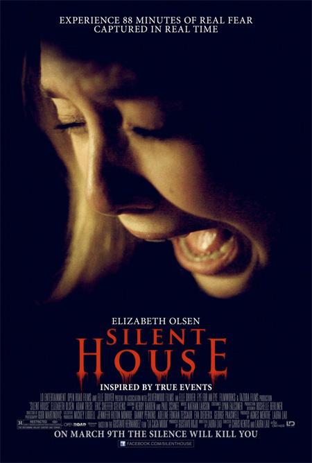 Primer cartel de Silent House