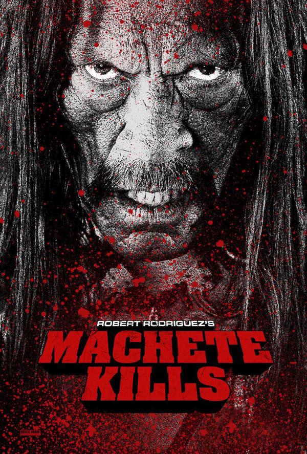 Uno de los carteles de Machete Kills