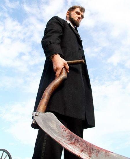 Imagen para flipar de Abraham Lincoln: Vampire Hunter