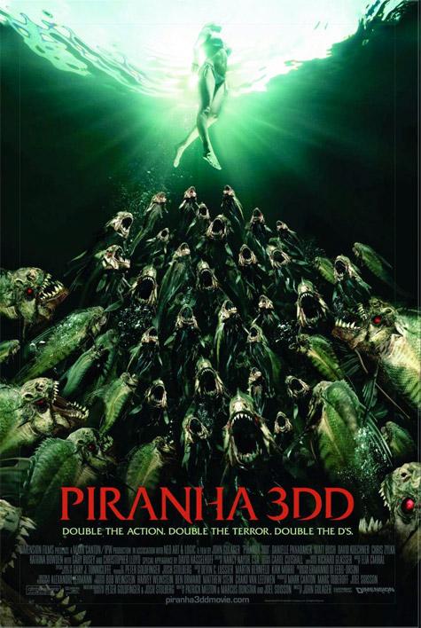 Otro cartel más de Piranha 3DD